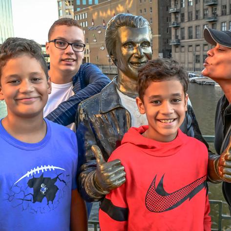 Jordan Berlinger and Family