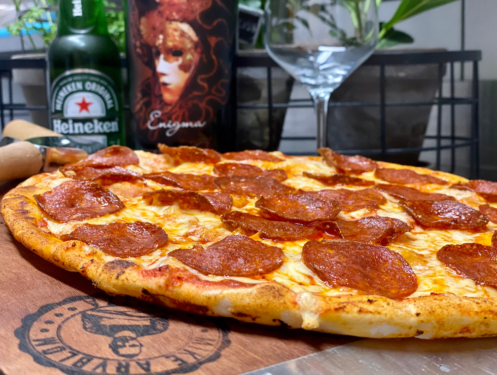 Gluten Free Peperoni Pizza