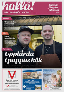 Cover Of Vellinge Hallå
