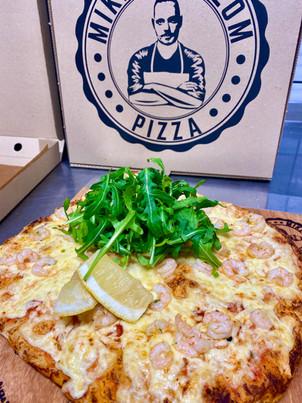 Bubba Shrimp Pizza