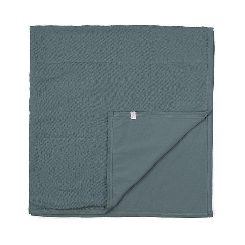 Phil&Phae Baby Blanket balsam blue