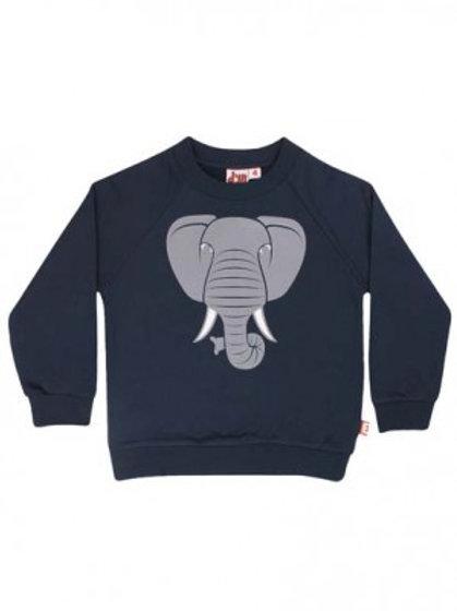 Dyr Sweat Noos navy Elefant