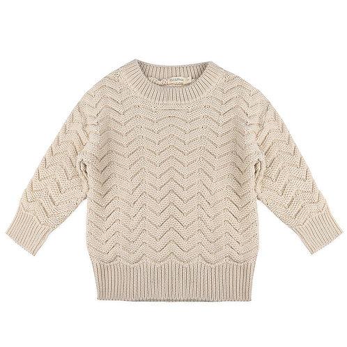 Phil&Phae Chevron Knit Sweater