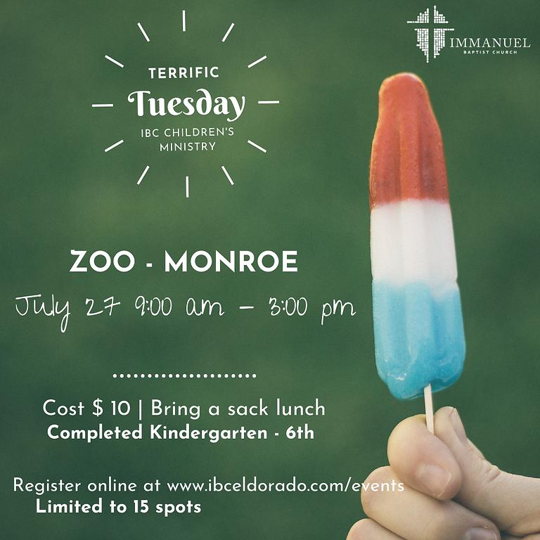 Terrific Tuesday - Zoo
