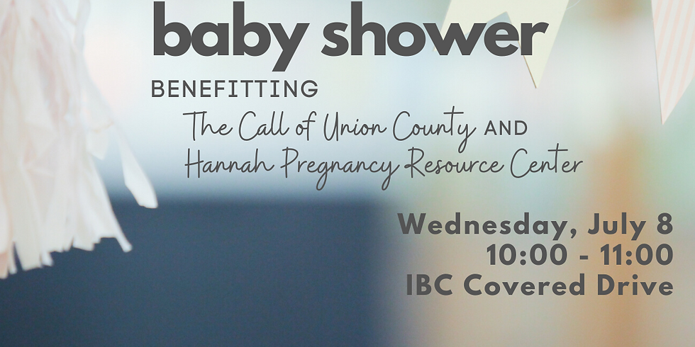 Drive-Thru Baby Shower