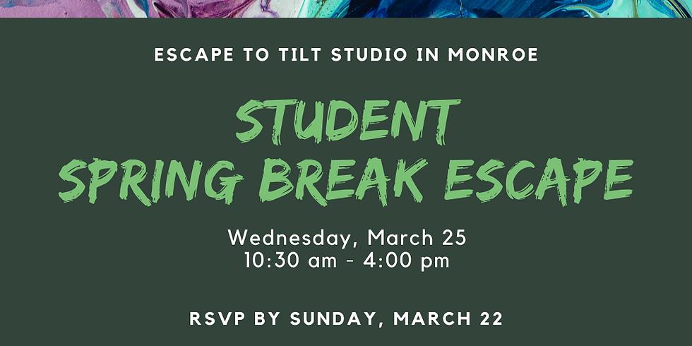 Student Spring Break Escape