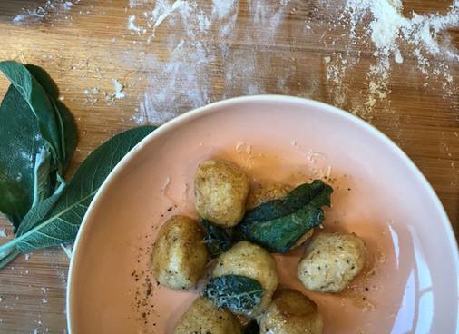 Recipe - 15 Minute Ricotta Gnocchi With Crispy Sage Butter