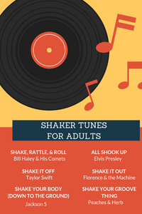 shaker songs older adults