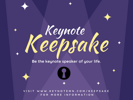 What is a Keynote Keepsake?