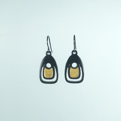 Silver Earrings - N.W.Coast Ovoid