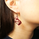 Thumbnail: Acrylic Raven & the Sun Earring