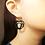 Thumbnail: Acrylic Eagle Heart Earring