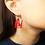 Thumbnail: AcrylicHand Peace Earring