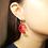 Thumbnail: Acrylic Salmon Earrings