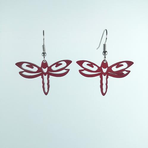 Acrylic Dragonfly Earring