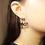 Thumbnail: Acrylic Dragonfly Earring