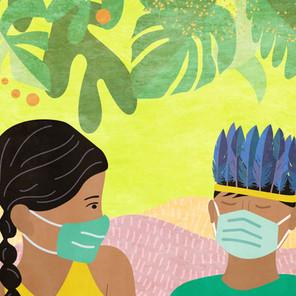 """Comissão Pró-Índio de São Paulo lança hoje o livro """"Coronavírus é um bichinho que deixa doente"""""""
