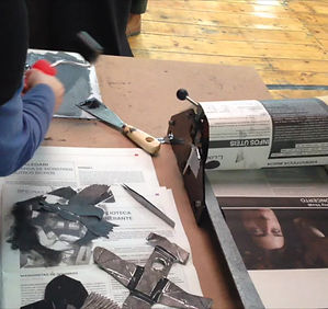 Artist Book collective work
