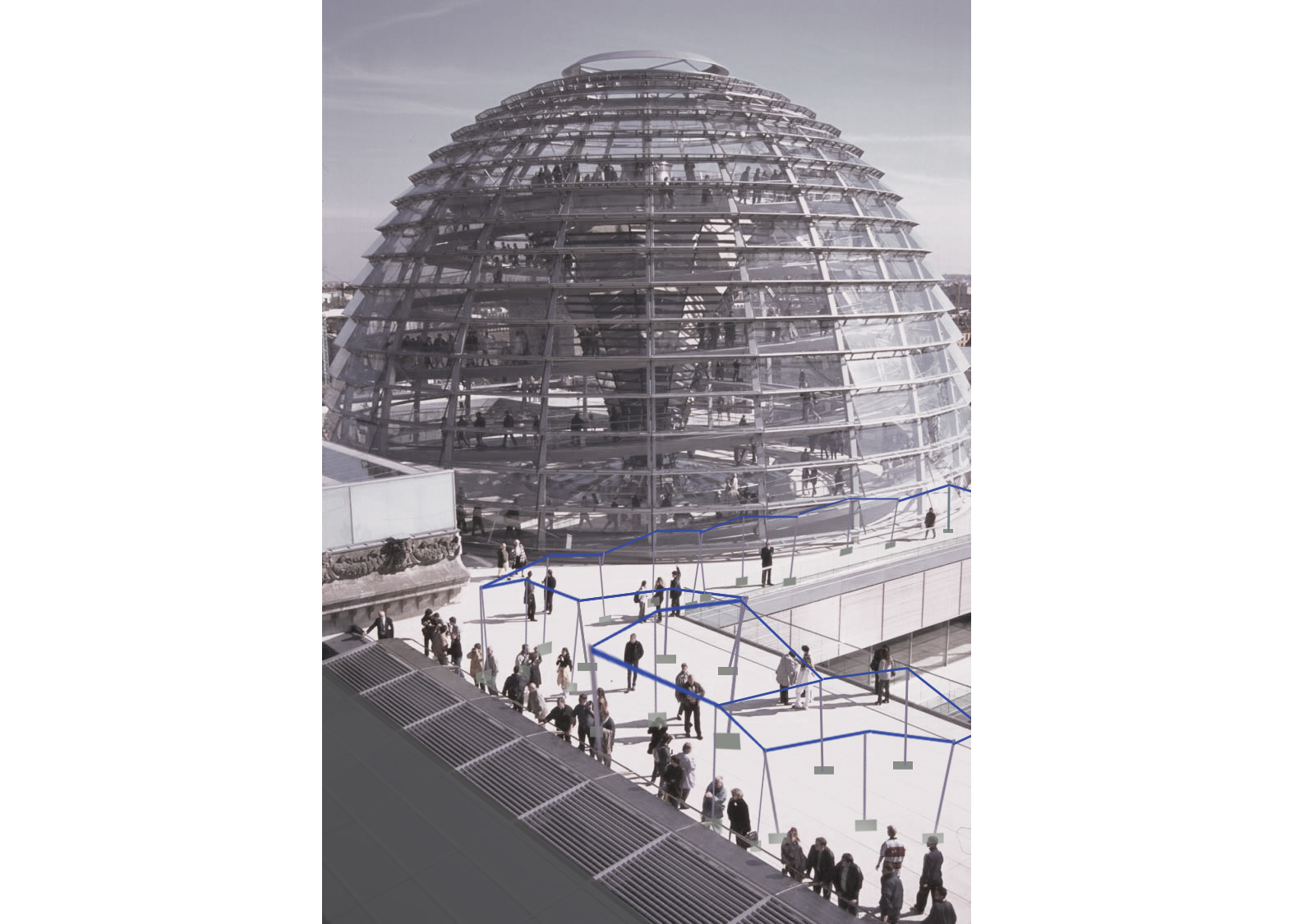 Project for Reichstag roof