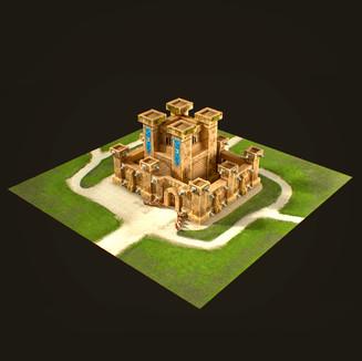 Stylized Medieval Castle