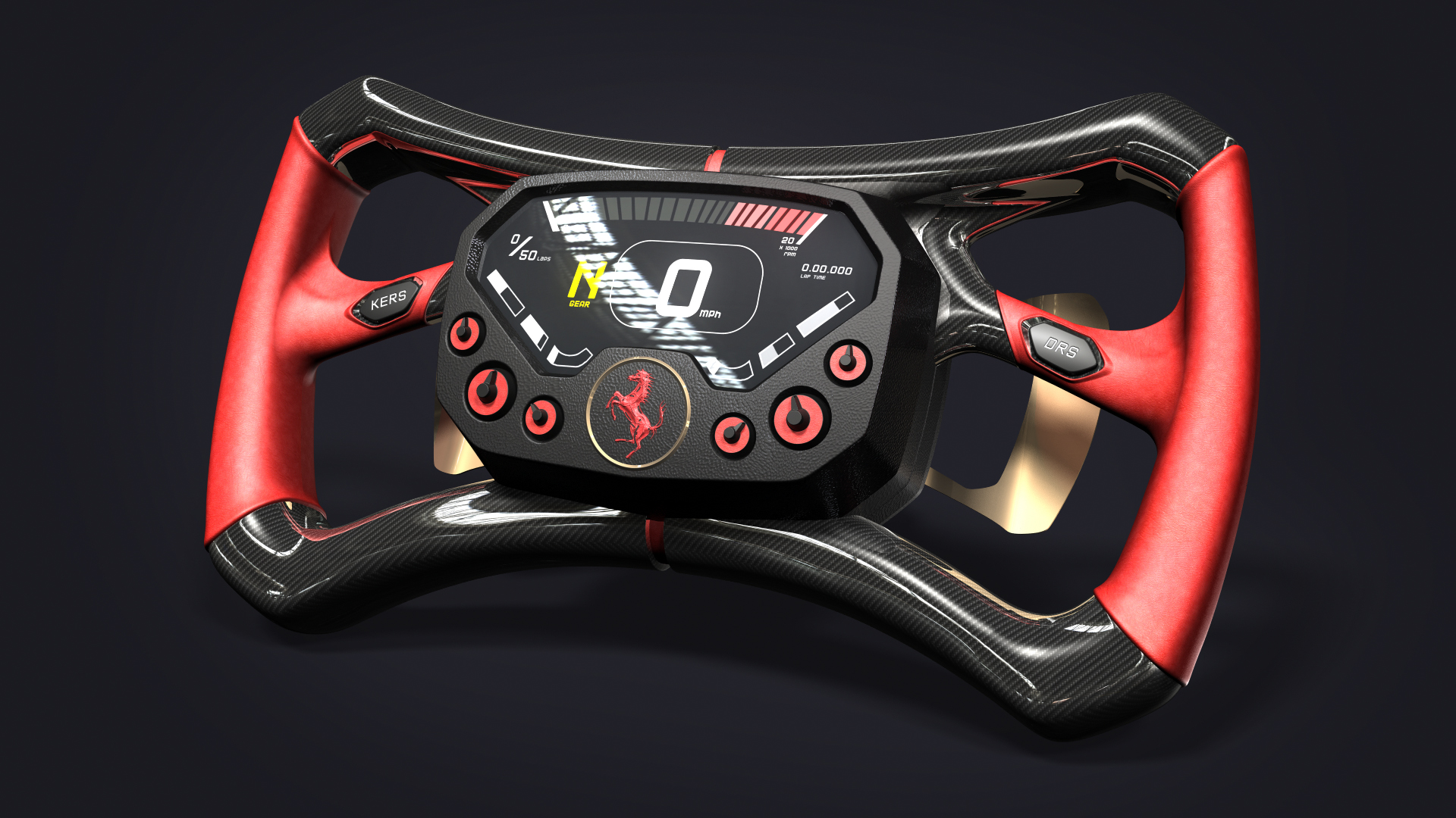 F1 Steering Wheel 2.0