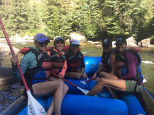Rafting the Taylor River