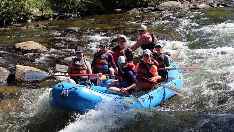 Ladies Raft Trip