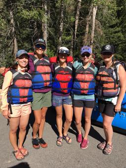 2018 GVWN Rafting Trip