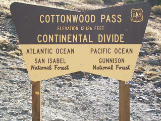 Cottonwood Pass To Close For Construction Summer 2017