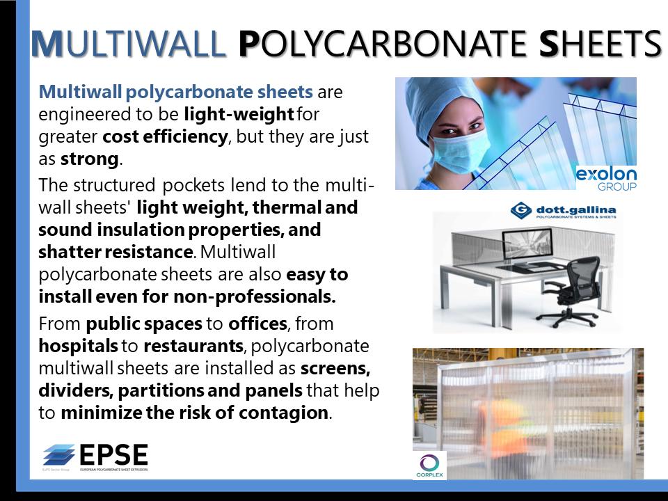 Multiwall sheets