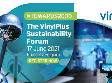 VinylPlus Sustainability Forum 2021: REGISTRATION OPEN!