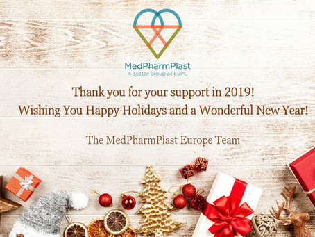 Happy Holidays from MedPharmPlast Europe!