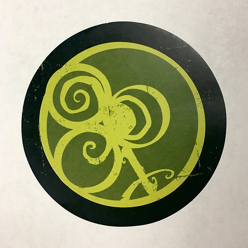 "'Irish Spirit' Round 3"" Sticker"