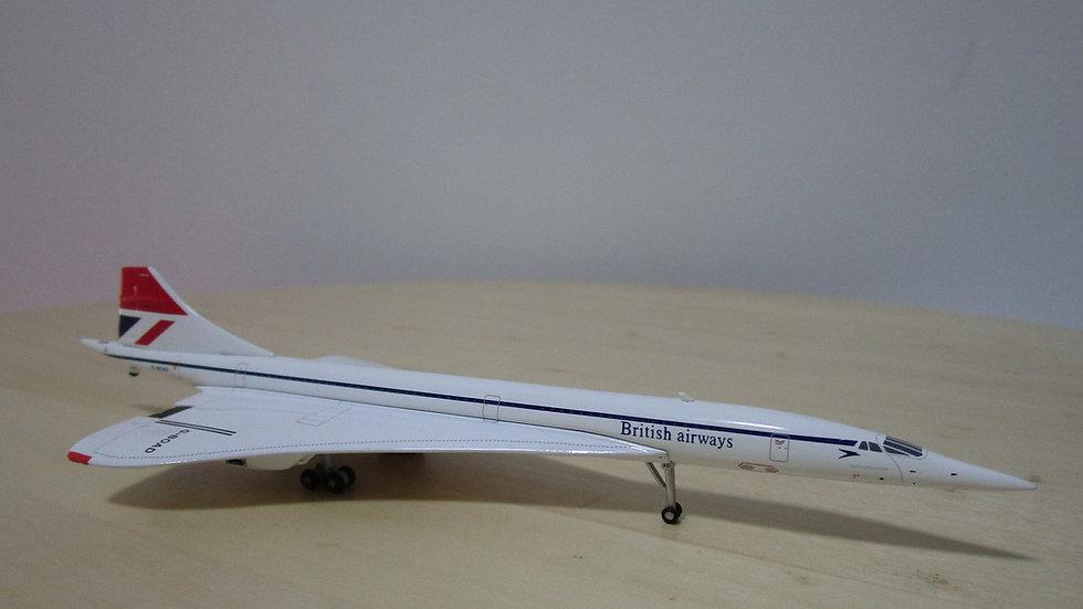 1:400 British Airways Concorde G-BOAF
