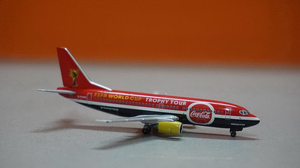 1:400 B737-300 Titan Airways Coca-Cola FIFA World Cup G-POWC