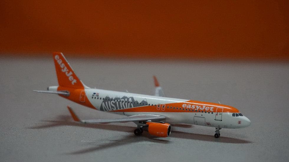 1:400 A320-200 EasyJet Austria Special Color OE-IVA