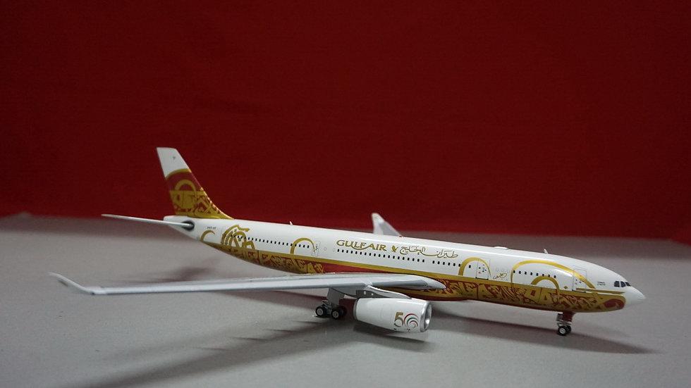 """1:200 A330-200 Gulf Air """"50th Anniversary A40-KF"""