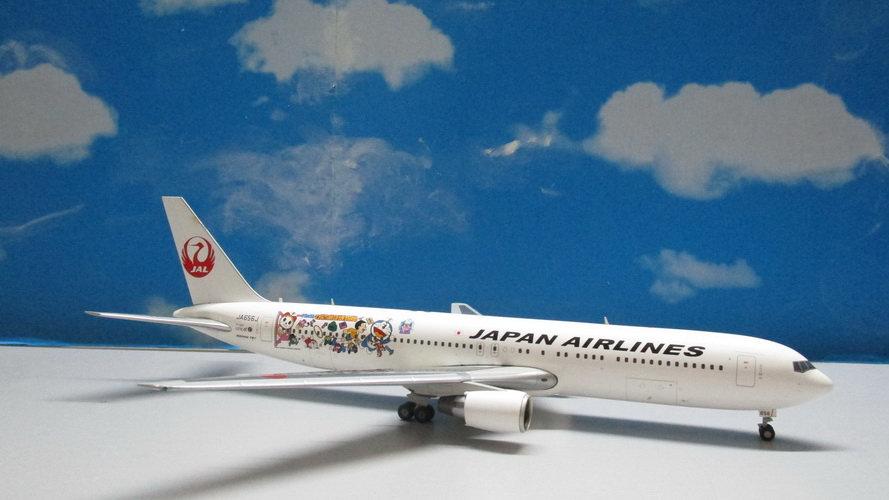 1:200 B767-300ER Japan Airlines Doraemon JA656J