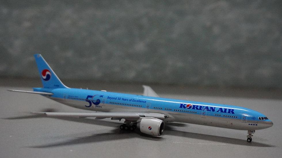 1:400 B777-300ERKorean Air 'Beyond 50 Years of Excellence' FD HL8008