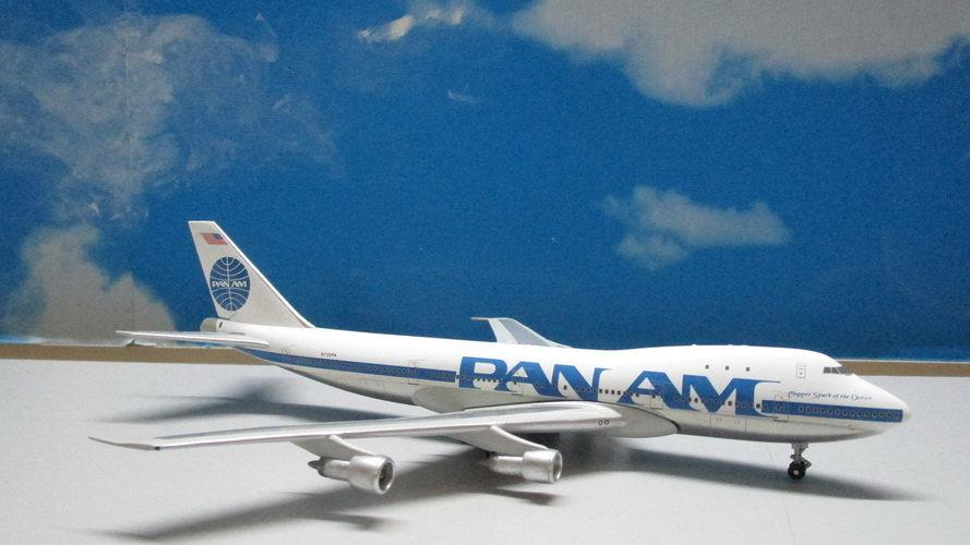 1:400 B747-100 Pan Am Clipper 'Spark of the Ocean' N735PA