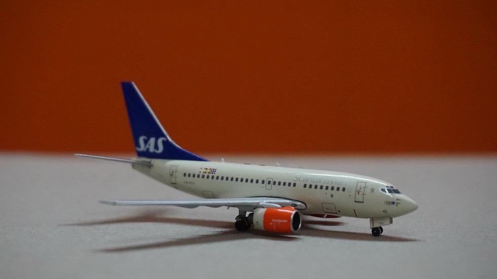 1:400 B737-600 SAS Scandinavian Airlines 'Sigfrid' LN-RCU