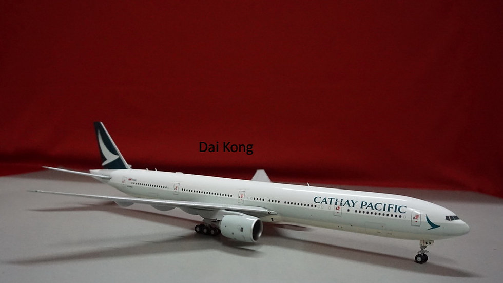 1:200 B777-300 Cathay Pacific New Livery B-HNS