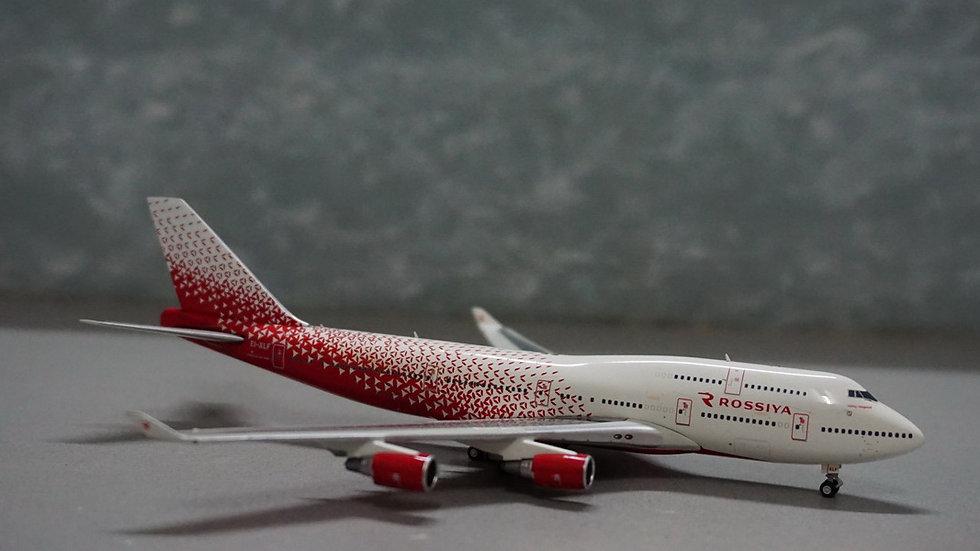 1:400 B747-400 Rossiya 'Russian Airlines' EI-XLF