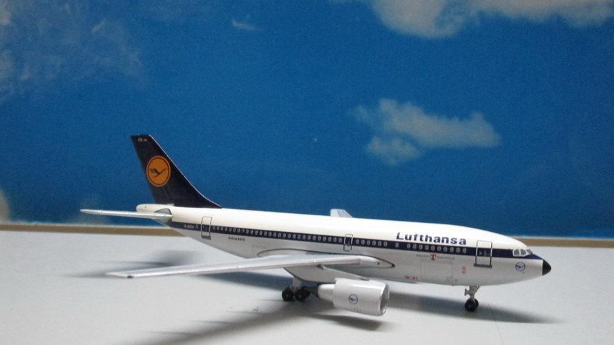 1:400 A310-203 Lufthansa Old Color D-AICK