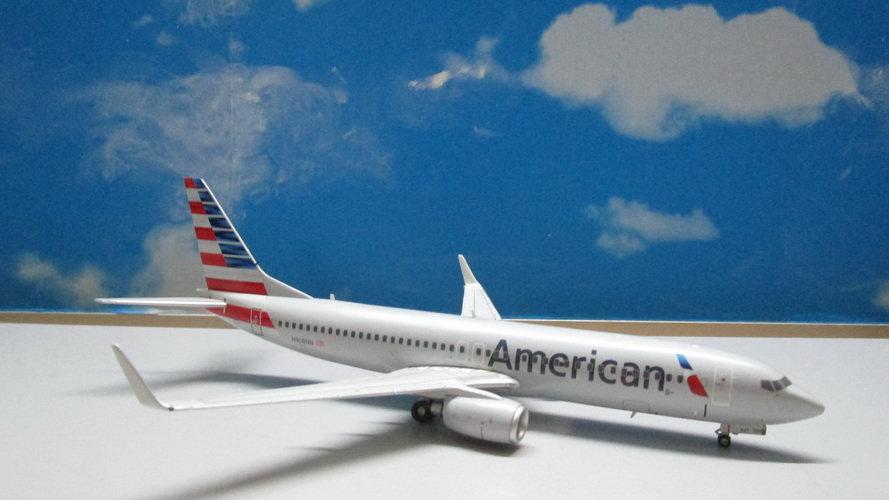 1:200 B737-800W American Airlines New Livery N908NN