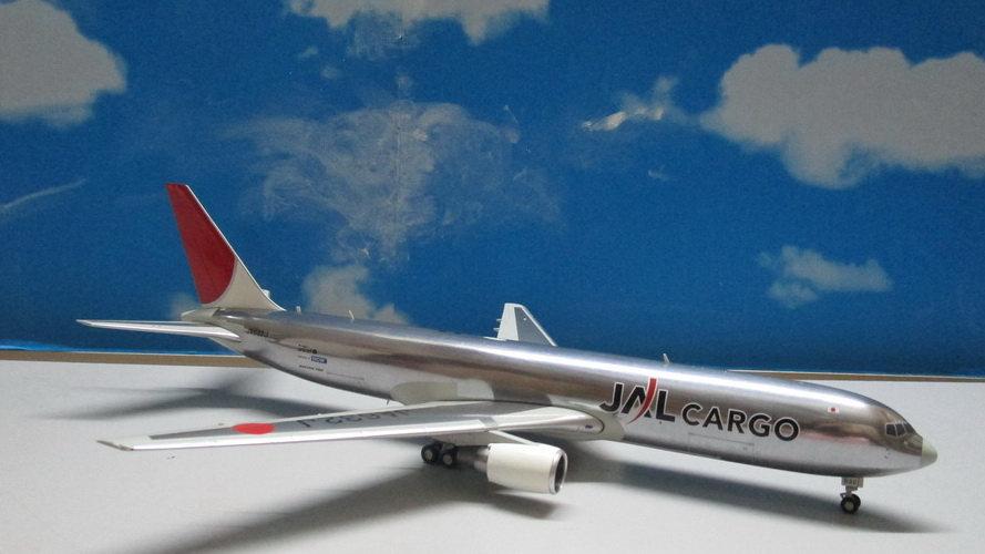 1:200 B767-346F/ER JAL Cargo Old Color Polished  JA632J