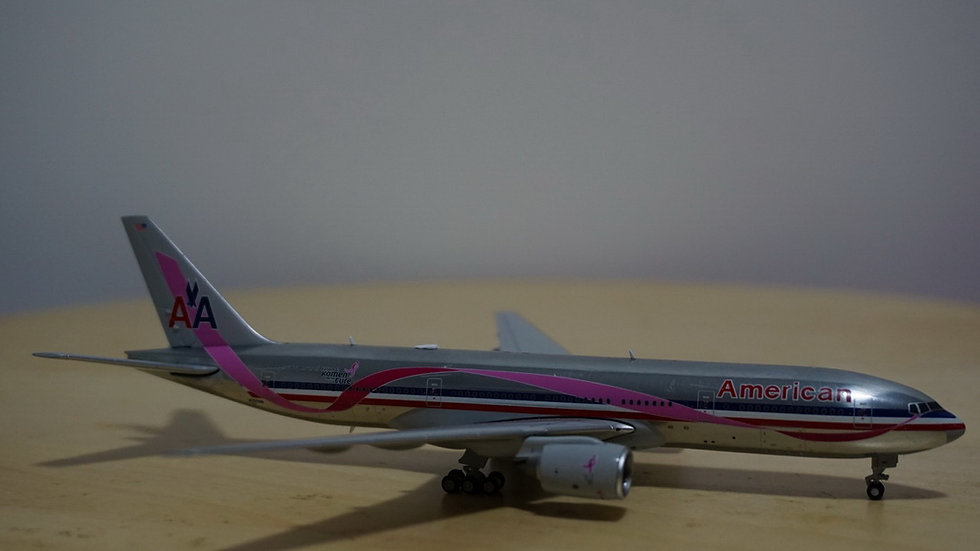 1:400 B777-223ER American Airlines BCA Polished N759AN