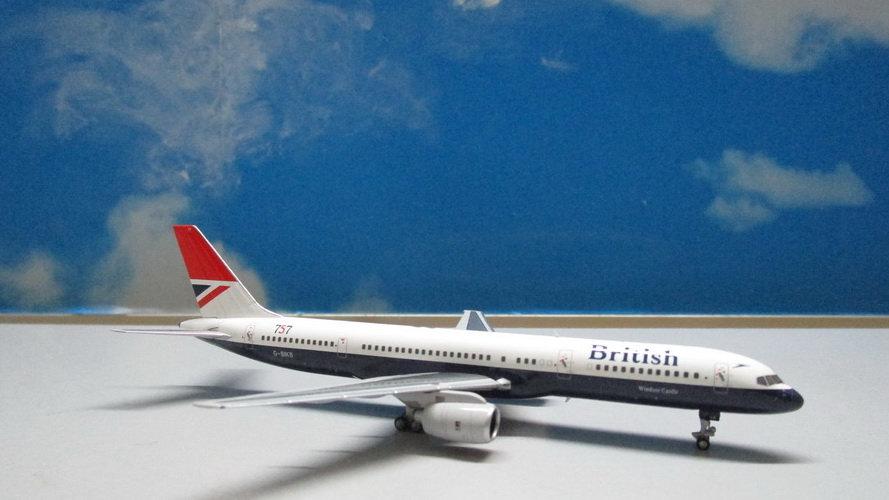 1:400 B757-200 British Airways 'Negus Livery 1st B757 delivered to BA' G-BIKB