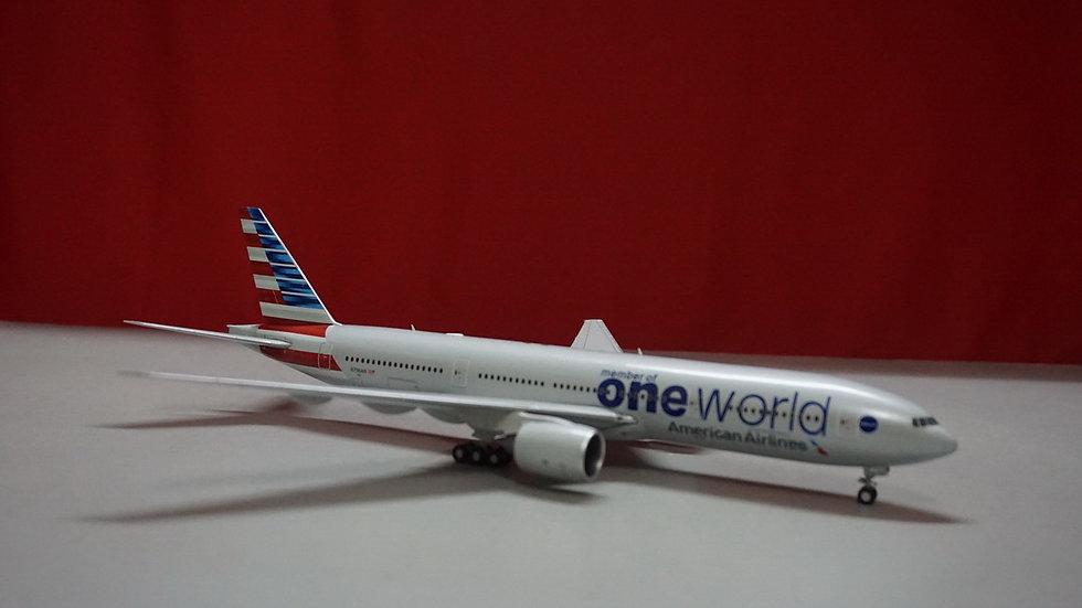 1:200 B777-200ERAmerican NL One WorldN796AN