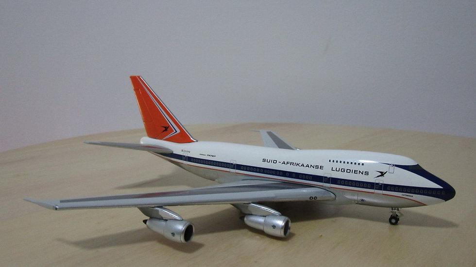 1:400 B747SP-44 South African Airways OC 'Outeniqua' ZS-SPB